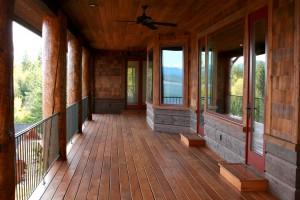 Exterior deck 1