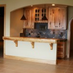 Lower Level Bar with Wine Cellar