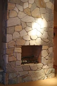 Master Bedroom fireplace 2