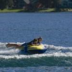 Tubing on Lake Pend Oreille