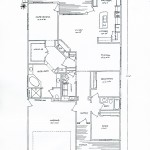 The floorplan for this home.